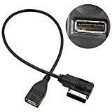 Adaptador de cable de MP3 USB, interfaz de música USB AMI MMI; AUX adaptador de...
