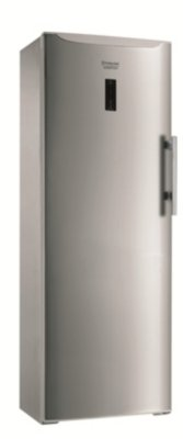 Hotpoint UPSO 1722 F J freestanding Upright 220L A+ Stainless steel freezer - Freezers (Upright, 220 L, 11 kg/24h, SN-T, No Frost system, A+)