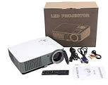 Vision VP-611 LED Android Projector & LED Lamp Life 50000 Hrs, 3200 Lumens, 1280*800 Ful HD, Quad Core 105Ghz, 1GB Ram, HDMI, USB, VGA, PC, TV, AV, Educational Purpose Projector