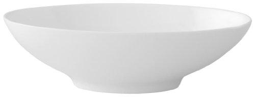 Villeroy & Boch 10-4510-2535 Modern Grace Beilagen-/Dessertschale, 19 x 12 cm, Premium Bone Porzellan Grace Bone China