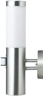 IR Wand-Außenleuchte mit Bewegungsmelder Edelstahl IP44 Außenlampe Sensor Bewegungssensor Infrarot Hoflampe Gartenlampe…