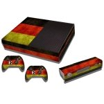 RISHIL WORLD Germany Flag Pattern Decal Stickers for Xbox One Game Console