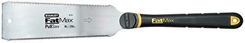 Stanley FatMax Japansäge (fein und grob 8 & 17 Zähne/Inch, JetCut, ergonomischer Bi-Material Griff) 0-20-501