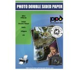 A4 Inkjet Brochure Paper Satin Double Sided 120g X 100 Sheets *Mega Value*