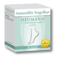 Amorolfin Nagelkur Heumann 5% Wirkstoffh.Nagellack 3ml