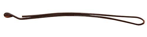 Solida Haarklemme 5 cm, braun, 3er Pack (3 x 20 Stück)