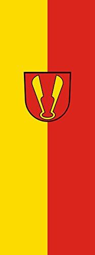 magFlags Drapeau Ispringen | portrait flag | 6m² | 400x150cm