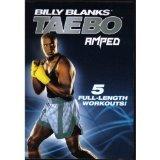 BILLY BLANKS TAE BO AMPED - 5 Workouts DVD Set - Jump Start Cardio, Fat Burn Accelerator, Full Throttle, Core Express & Live in LA (Tae Bo-dvd-set)
