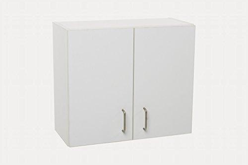 Regalschränkchen mit einem Einlegeboden Weiss matt B / H / T 60 / 52 / 27 cm