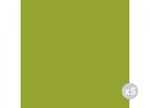Ro.Ial. Set 5x20 (100 pz totali) Coprimacchia antigoccia Kiwi plp Fiesta 100x100, Unica