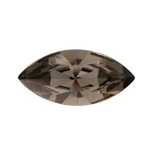 Swarovski - Navette Kristall Stein Black Diamond 15mm (4)