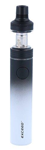 InnoCigs Exceed D19 E-Zigaretten Set mit 1500 Akkukapazität - max. Ausgangsleistung 35 Watt - 2ml Tankvolumen - von InnoCigs - Farbe: schwarz-weiss, 1 Stück