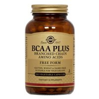 Solgar BCAA Plus Vegetable Capsules (Branched Chain Amino Acids)