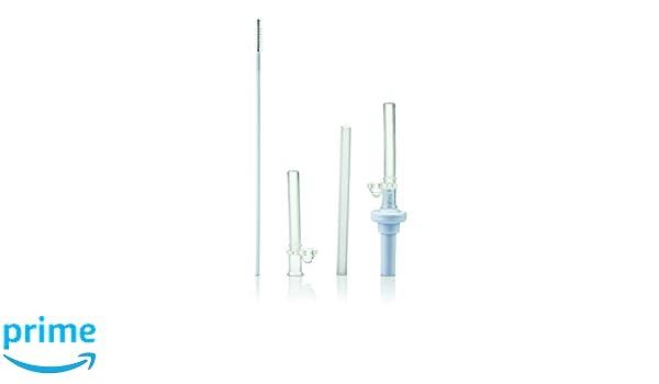 Reinigungsb/ürste N/ûby 9815 Ersatz-Trinkhalm f/ür auslaufsichere Trinkhalmflaschen inkl