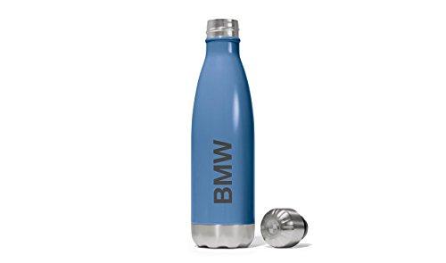 Preisvergleich Produktbild BMW Active Trinkflasche Leichte / formschöne Outdoor / Edelstahl / 8023246016 (Blau)
