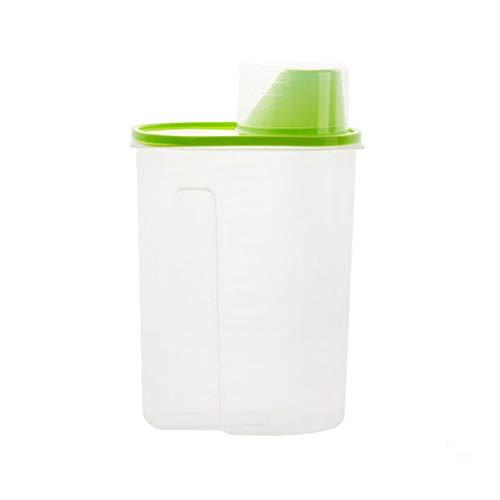 Sulifor Kunststoff verschlossenen Dosen Küche große Lebensmittel Lagertanks Multi-Korn-Gläser mit Deckel Aufbewahrungsbox