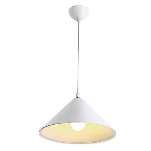 HYKY Luces Colgantes Industriales Retro, E27 Lámpara De Techo Ajustable en Forma...