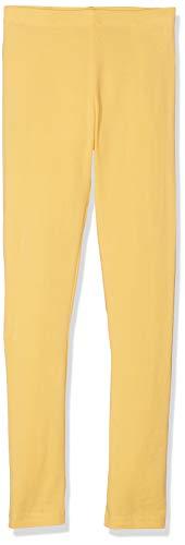 Name IT NOS Mädchen Leggings NITVIVIAN NMT NOOS, Gelb (Pale Marigold), (Herstellergröße: 116) (Jersey Leggings Mädchen)