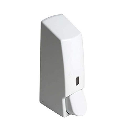 OUNONA Shampoo Dispenser 600ml Seifenspender Wandhalterung Flüssigseifenspender für Badezimmer Dusche (Weiß)