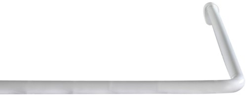 Wenko Barra Angular Universal Extra Fuerte, Aluminio, Plateado, 3x3x3 cm