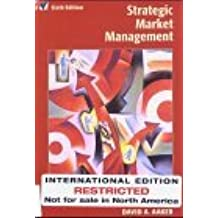 Strategic Marketing Management by David A. Aaker (2003-04-04)