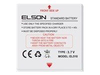 Elson BTY26159ELSON/STD Chargeur Noir