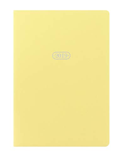 Letts Pastel A5 Kalender 2019 1 Woche auf 2 Seiten Lemon