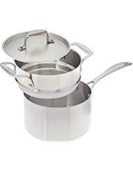 American Küche-PREMIUM Edelstahl Topf 3QT 3QT Boiler Insert (Pfannen T-fal Töpfe Set Und)