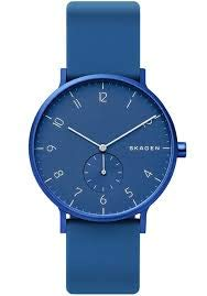 Skagen Unisex Adult Analogue Quartz Watch with Silicone Strap SKW6508 Best Price and Cheapest