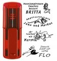 Taucherstempel smart-stamp B 47 x 18 mm, ruby