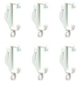 Curtain Hooks To Fit Glider Rail Decorail (10/Pack) (043108) By