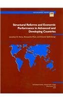 Structural Reforms and Economic Performance in Advanced and Developing Countries (Occasional Paper (Intl Monetary Fund)) by Jonathan D. Ostry (2009-05-30) par Jonathan D. Ostry;Alessandro Prati;Antonio Spilimbergo