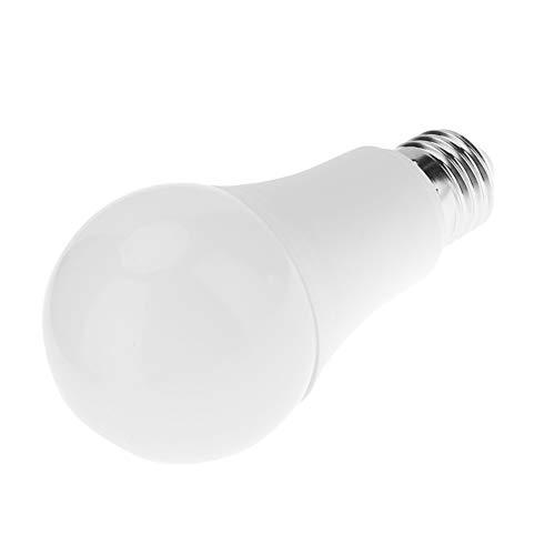 Widewing Lámpara de Bombilla de Inducción Led, Propiedad Corredor Garaje Balcón Alarma Antirrobo Cuerpo Humano Bombilla (CW 9W)