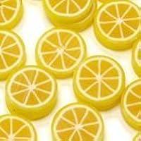 Fimo Mini Frutta CITRUS - Coni retinici 4,5 cm - 03 Limone