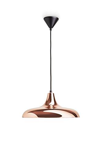Philips myLiving Surrey - Lámpara colgante, iluminación interior, metal, casquillo E27, color cobre brillante