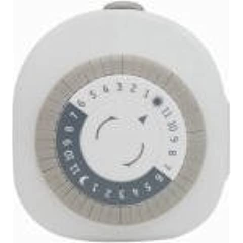 Jasco Products Company 15153 Indoor Heavy Duty Mechanical Timer 15 Amp by GE