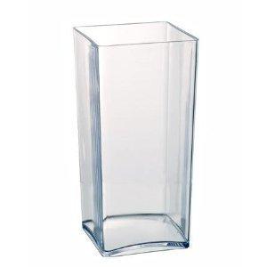 Clear Acrylic Cube Vase Hard Wea...