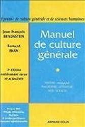 Manuel de culture générale