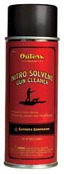 Outers Nitro Solvent Gun Cleaner (Aerosol 5-Ounce) (Gun Cleaner Solvent)