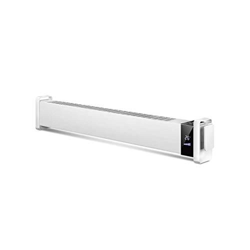 DWLXSH Radiador Calentador de espacios, 1800W, Termostato ajustable, ahorro de energía, características...
