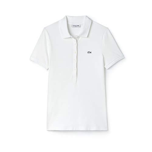 Lacoste Damen Poloshirt Pf7845 , Weiß (White 001) , 48