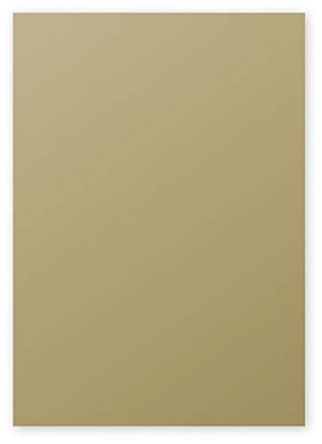Clairefontaine 4199C Packung mit 50 Blatt Pollen, DIN A4, 210 x 297 mm, 120g, Gold