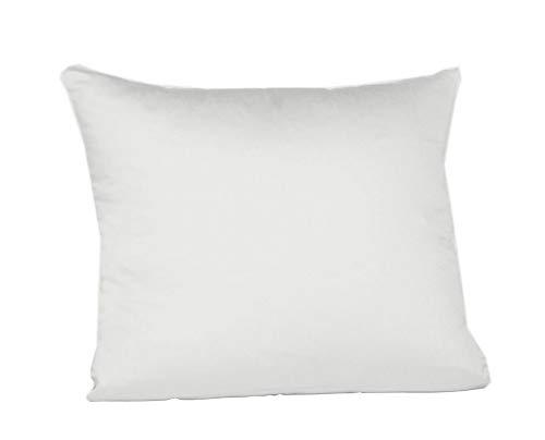Fleuresse Interlock Jersey Kissenbezug colours, weiß, 35 x 40 cm -