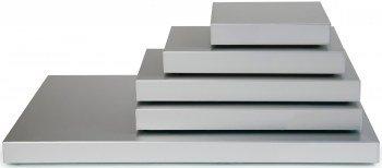 Saro Kühl-Servierplatte Modell Stay Cool 1/3 GN, Metall, silber, 32.5 x 17.6 x 3.6 cm