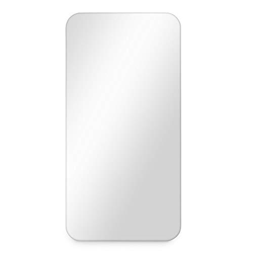 PHOTOLINI Spiegel ohne Rahmen 40x80 cm   Deko Wand-Spiegel Lang Schmal