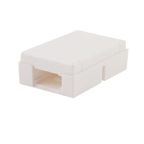 bianco plastica domestico BT 6P6C femmina a femmina telefono inlinea accoppiatore