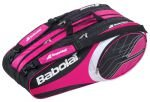 Babolat Tennistasche Club Line Racket Holder 12er, pink/schwarz, 74 x 33 x 34 cm, 58 liters, 751066PI