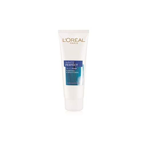 L'oreal Dermo-Expertise White Perfect RE-Lightening Whitening Facial Foam - 100ml/3.3oz