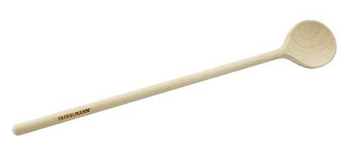 FACKELMANN 30251, Kochlöffel aus Holz, 35 cm, mit O-Ringen