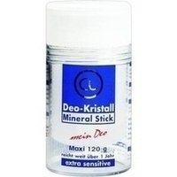 DEO KRISTALL Mineral Stick, 120 g (Kristall Deo)